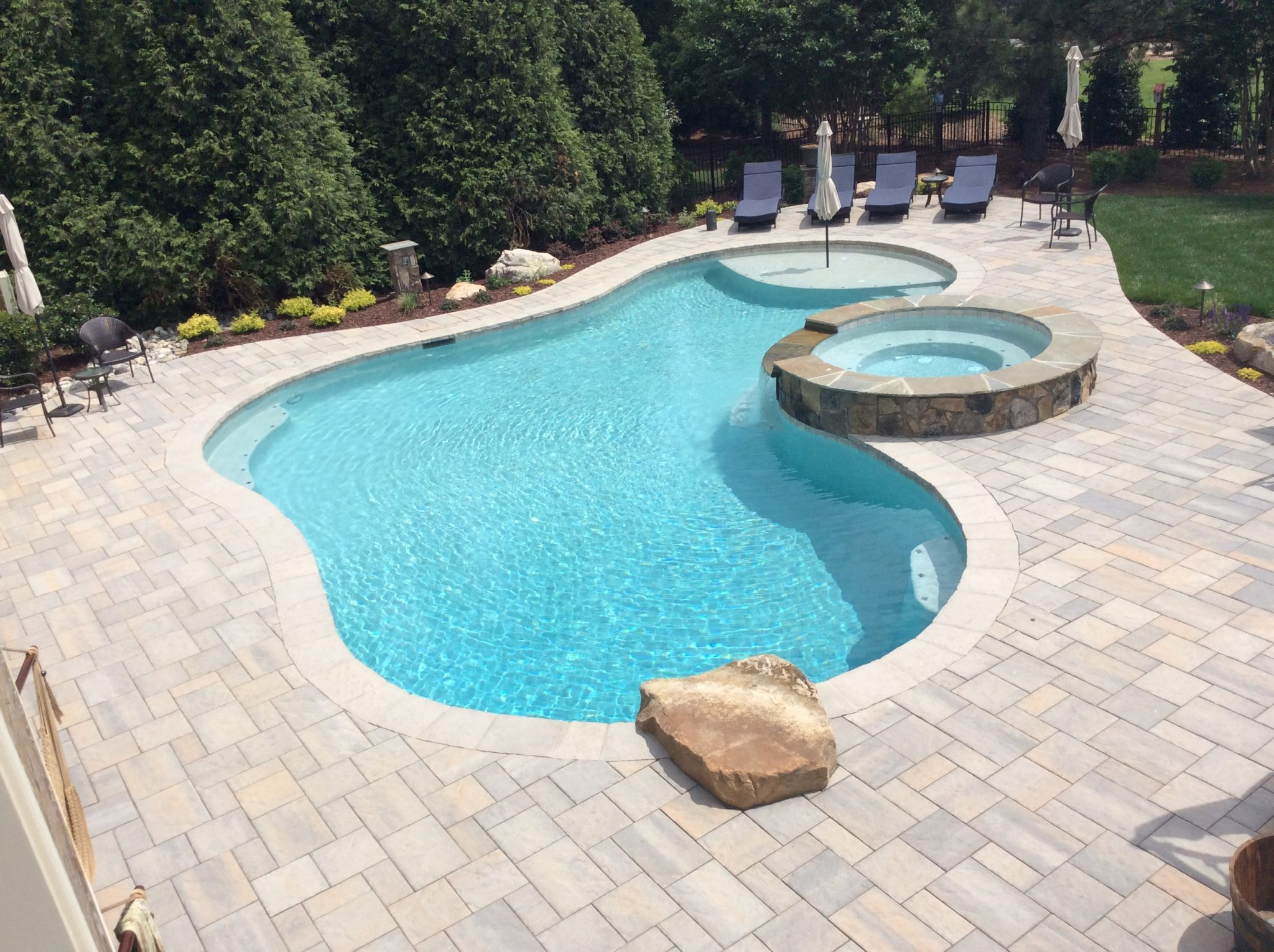 Pools & Water Features | Raleigh - Cary - Apex | Brookscapes ...