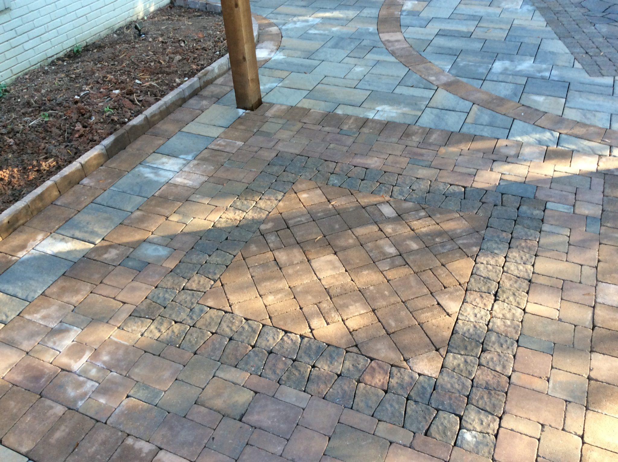 driveways and walkways concrete asphalt flagstone raleigh